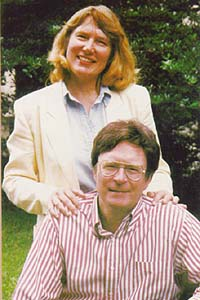Charles Hall and wife