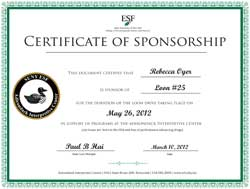 Sample Loon Certificate