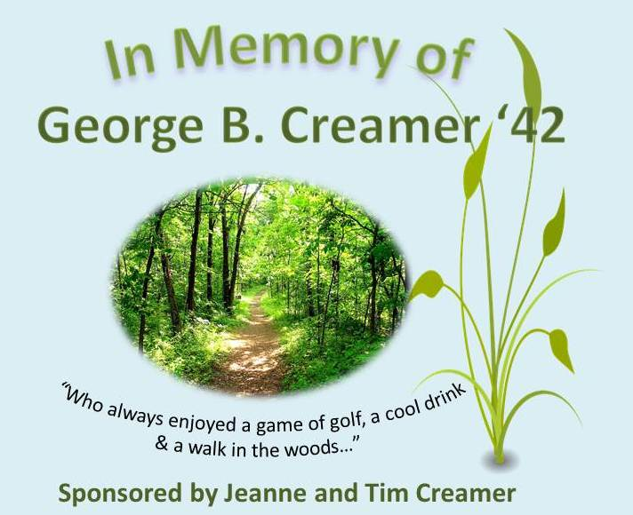 tim and jeanne creamer in memory of george creamer