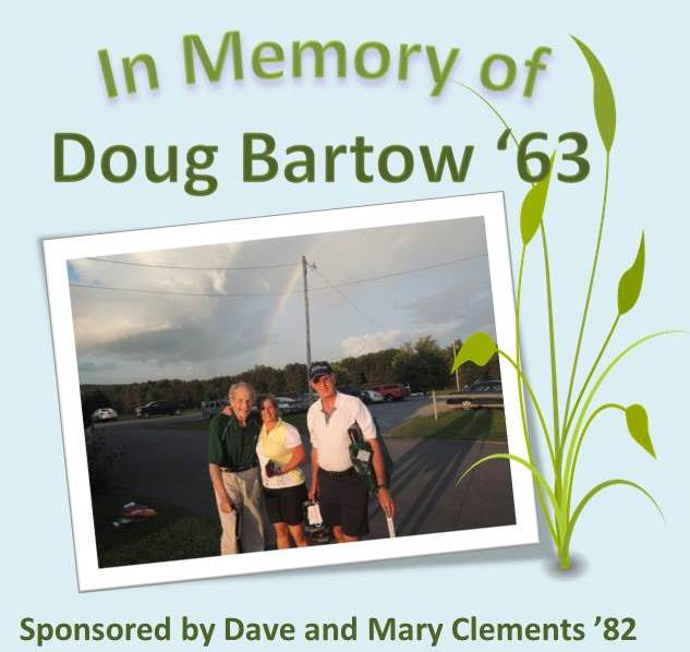 dave and mary clements in memory of doug bartow
