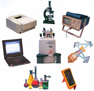 tools ATS uses: laptop, microscope, chemistry related ,etc.