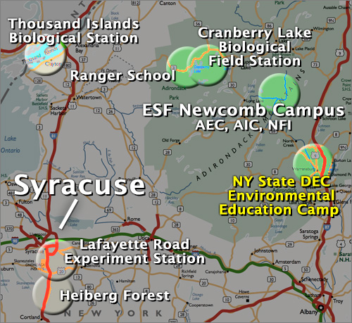 map of syracuse area