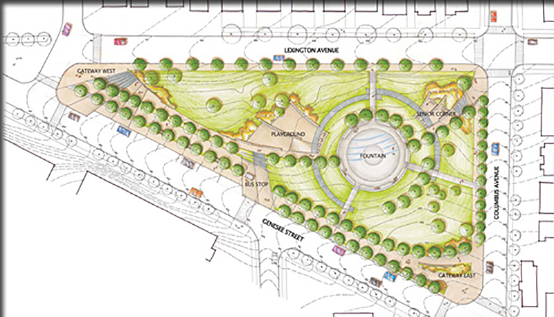design of Lexington park