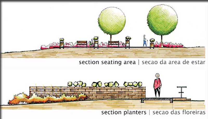 section seating area