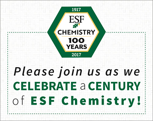 Plese join us as we celebrate a century of EsF Chemistry