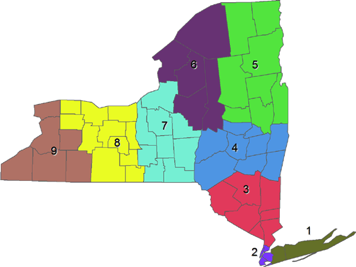 New York State Districts