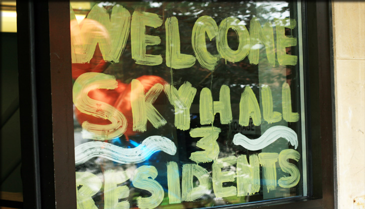Welcome Skyhall residents