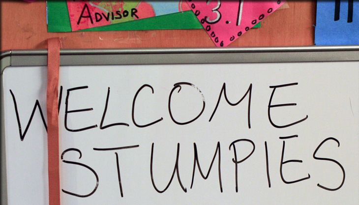 Welcome stumpies