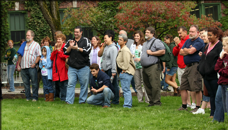 alumni and family fall barbeque