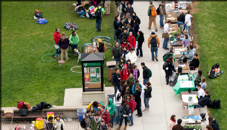 earth week on the quad