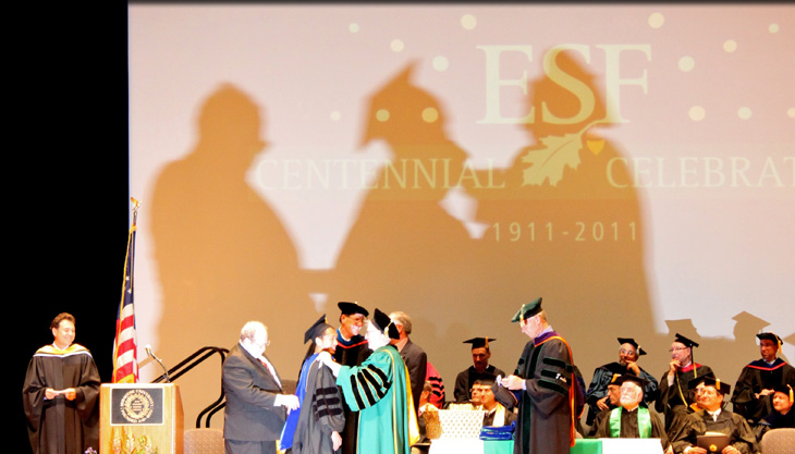 Spring 2011 ESF Convocation and Commencement