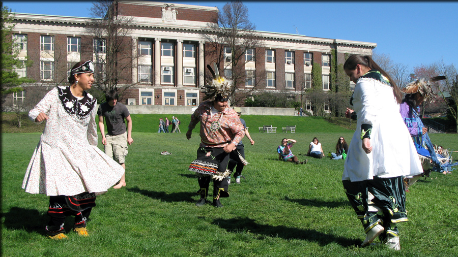 students LARPing