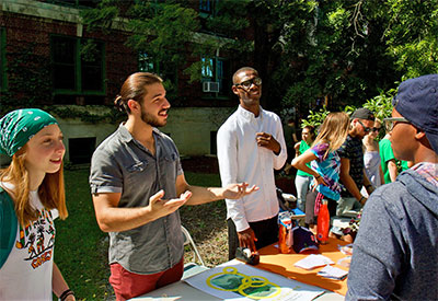 student org table and students