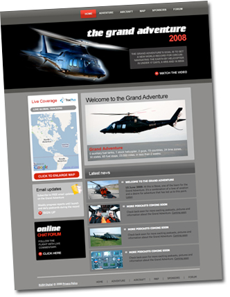 helicopter challenge website