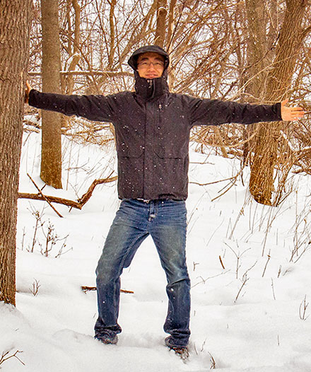 ESF graduate student Sheng Yang co-authored a study about changes in U.S. forests.