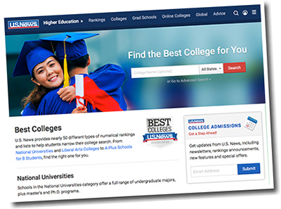 u.s.news Education Website