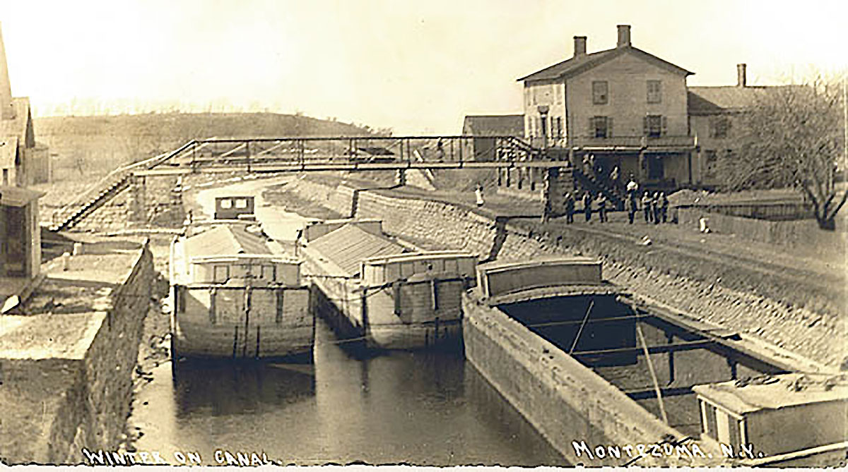 Historic image of Erie Canal