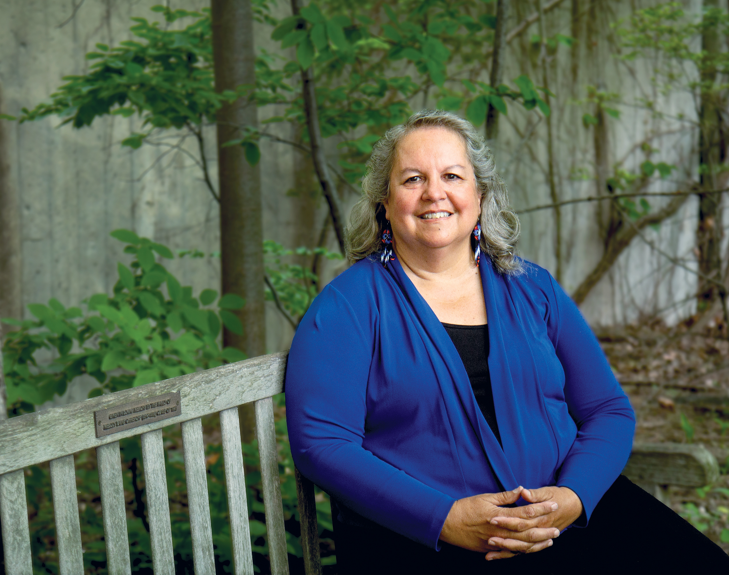 Dr. Robin Kimmerer, director, Center for Native Peoples and the Environment (CNPE)