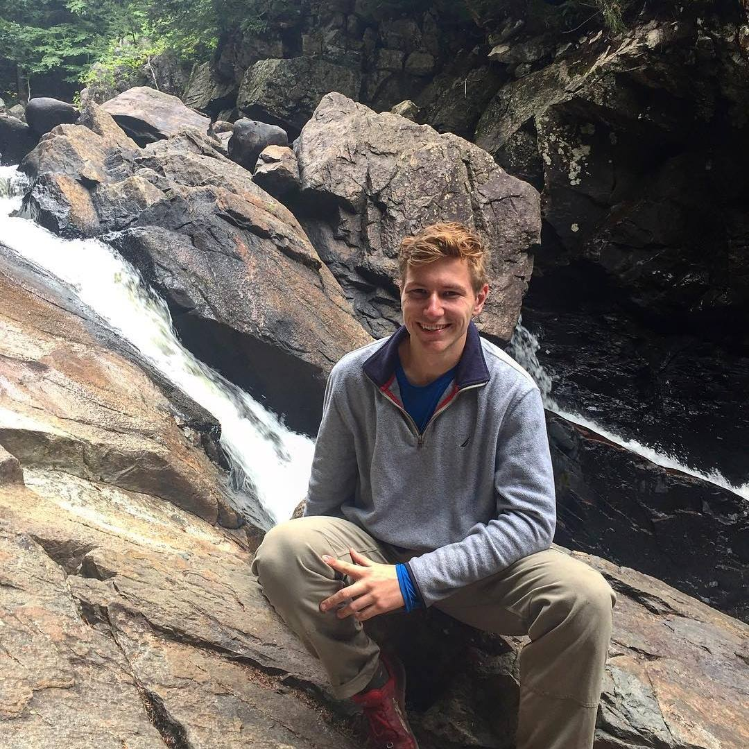 Michael Mahoney, graduate student SUNY College of Environmental Science and Forestry (ESF)