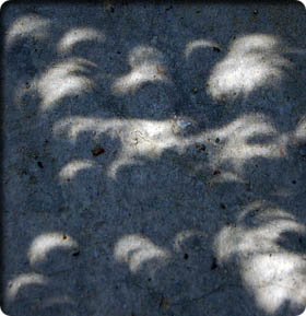 Picture of the eclipse in Cyprus