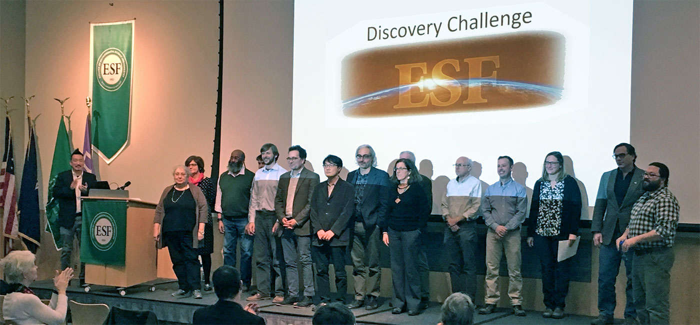 ESF Discovery Challenge presenters