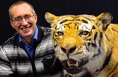 Guy with Tiger