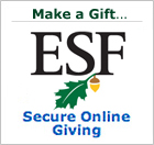 Make a gift to ESF. It's easy with secure online giving