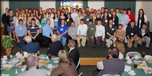 Photo from a Scholarship Appreciation Luncheon