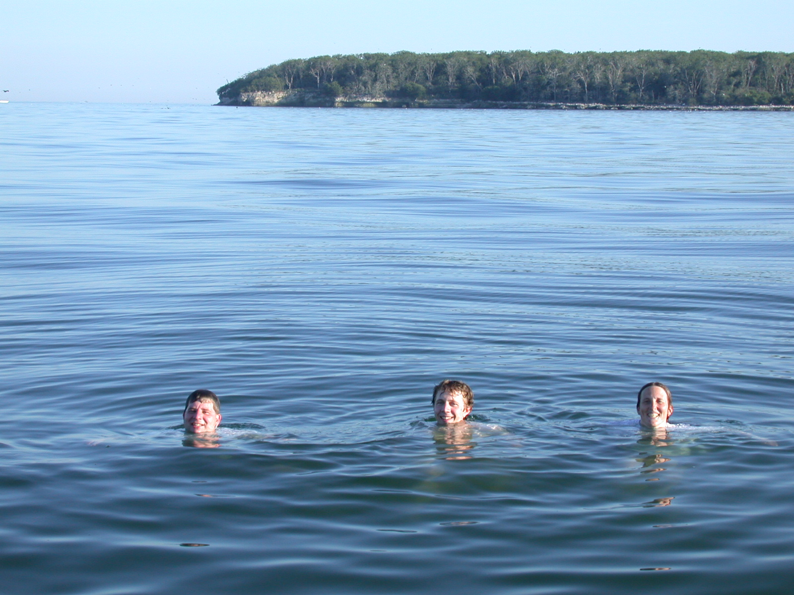Swimming after Sampling in Lake Erie