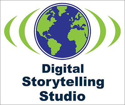 digital storytelling studio logo