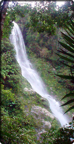 waterfall from Honduras