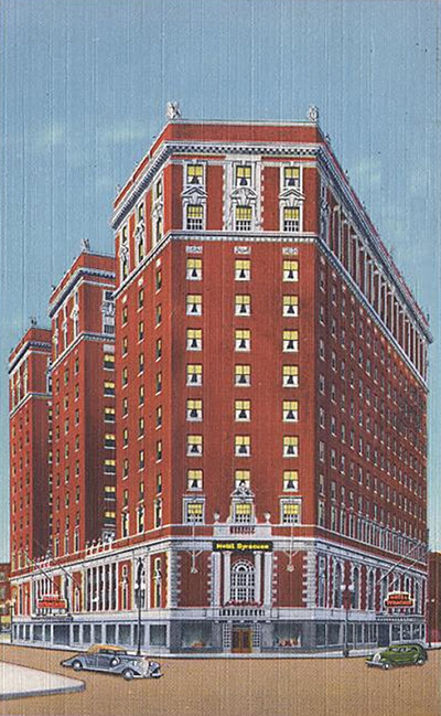 The conference will be held at THE MAGNIFICENT, FULLY RESTORED HOTEL SYRACUSE, NOW THE MARRIOTT SYRACUSE DOWNTOWN