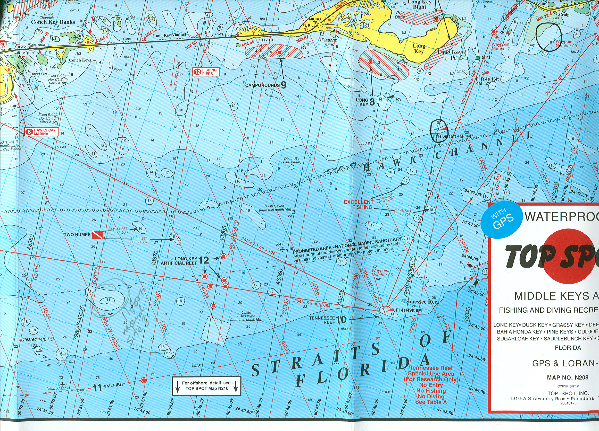 Research At SUNYESF Coral Reefs In The Florida Keys Florida Keys - Florida keys map pdf