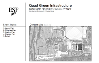 ESF Quad Green Infrasturcture