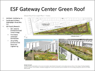 ESF Gateway Center Green Roof