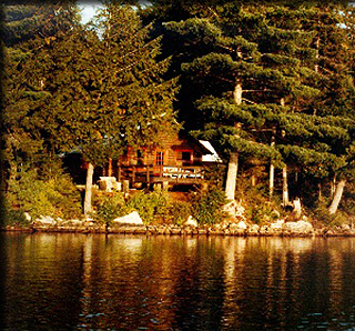 Arbutus Lake and Cabin