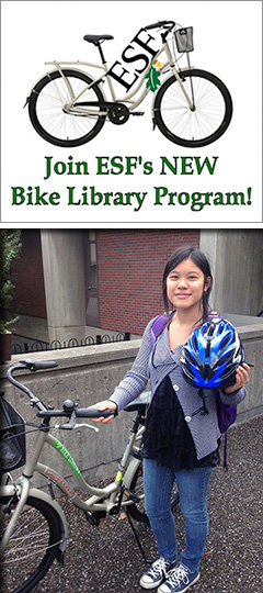 Join ESF's New Bike Library Program