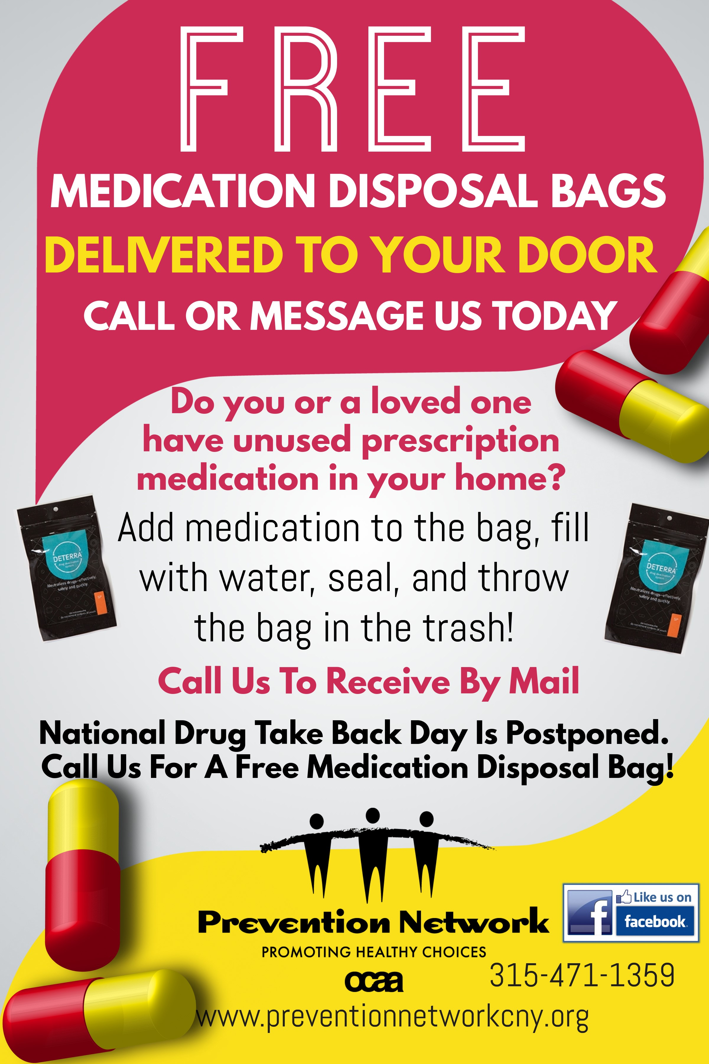 medication disposal bags