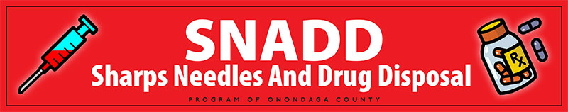 S N A D D Sharps needles and drug disposal