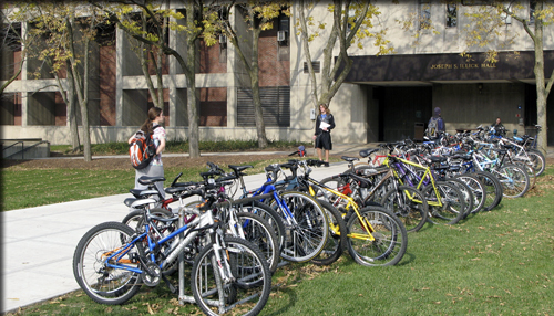 Bikes in Front of Illick