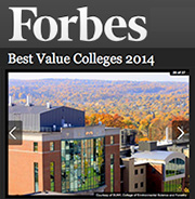 Forbes Best Value Colleges 2014
